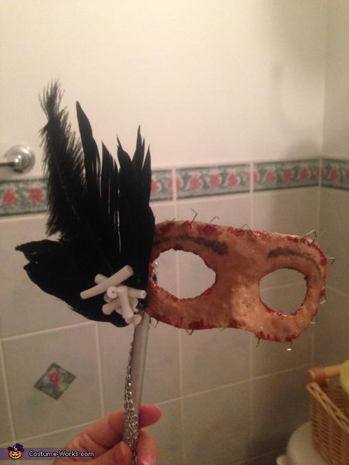 Mask complete, Flesh Masquerade Costume