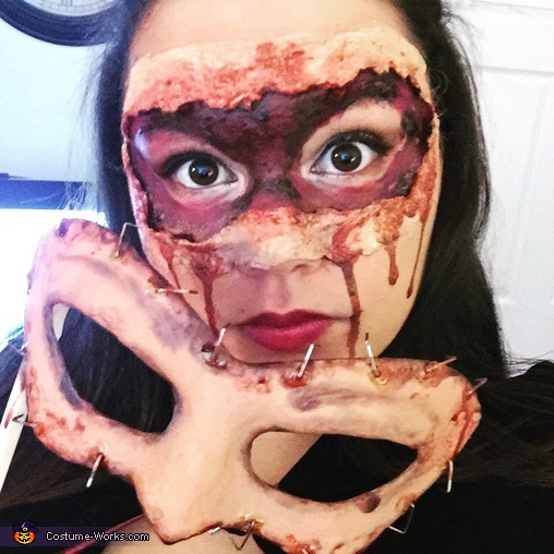 Mask Off, Flesh Masquerade Costume
