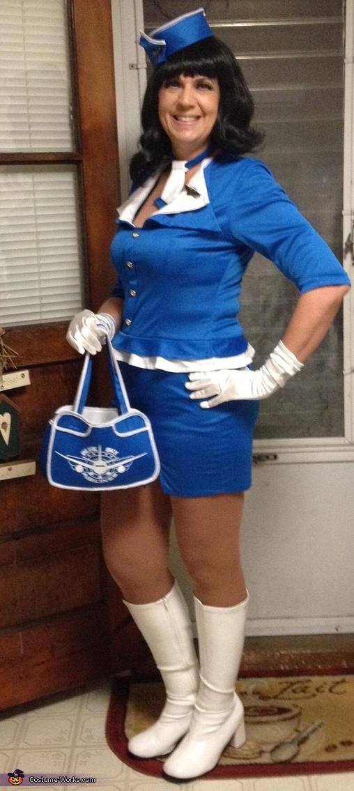 Flight attendant, Flight Attendant Costume