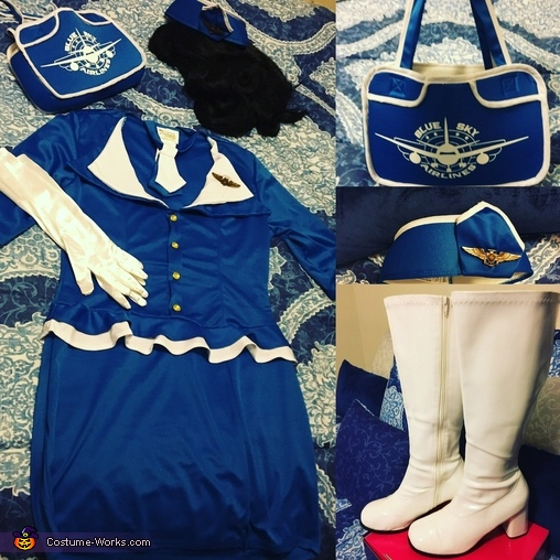 Flight attendant accessories, Flight Attendant Costume