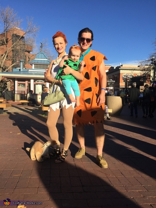 Flintstone Family Costumes