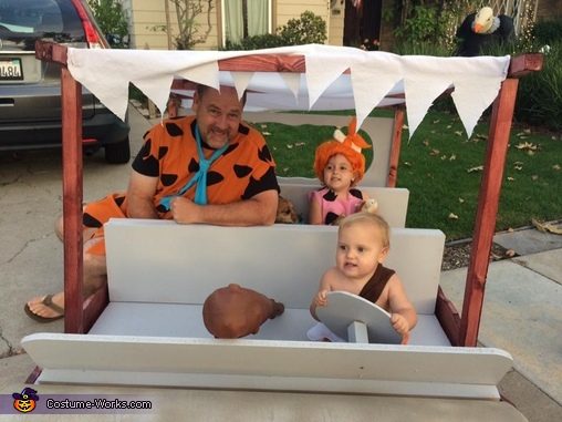 Flintstones Homemade Costume