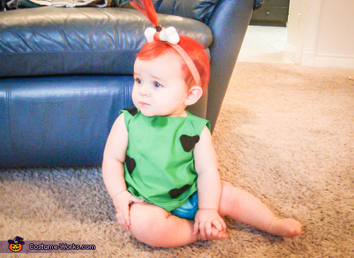 Our pebbles, Flintstones Family Costume