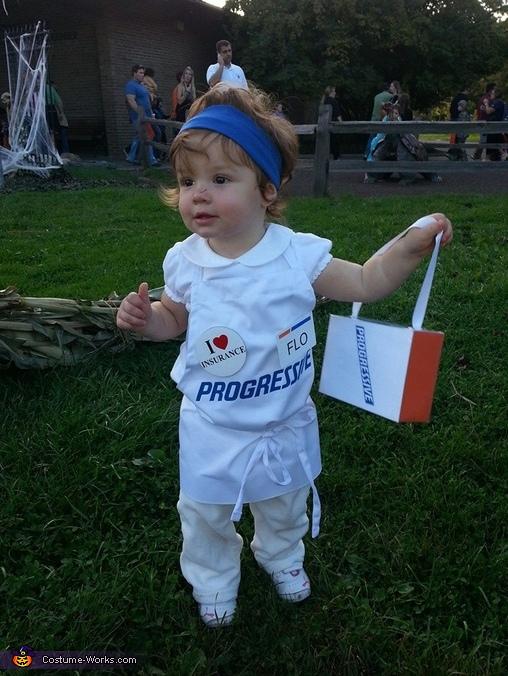 Flo Baby Costume