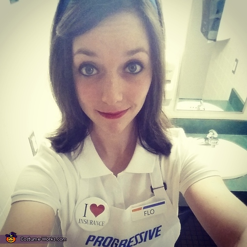 Flo from Progressive Costume