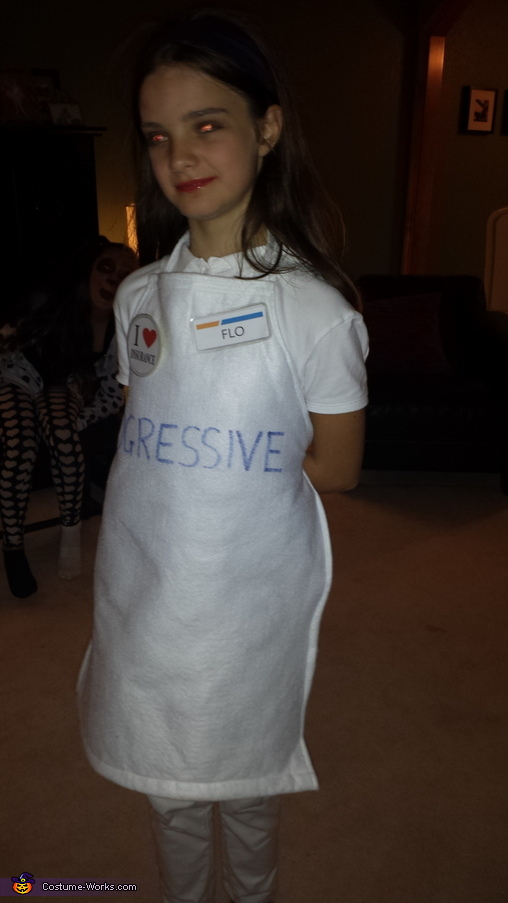 flo, Flo from Progressive Costume
