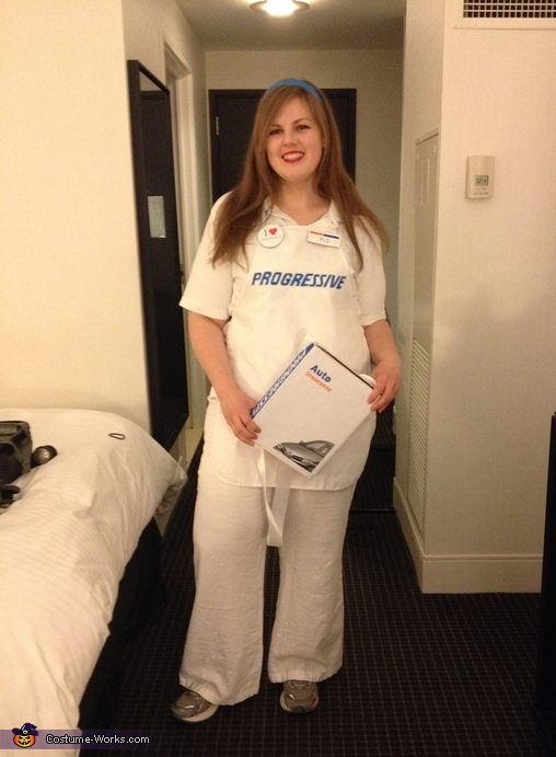Flo from Progressive Insurance Costume