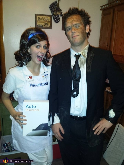 Flo & Mayhem Costume