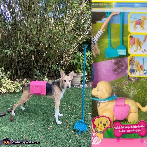 Poop n Play Pooch, Florida Fun Covid edition Barbie Costume