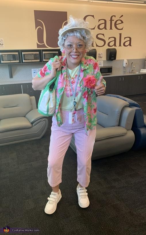 Florida Grandma Costume