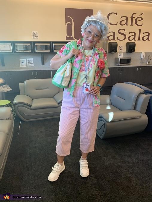 Florida Grandma Homemade Costume