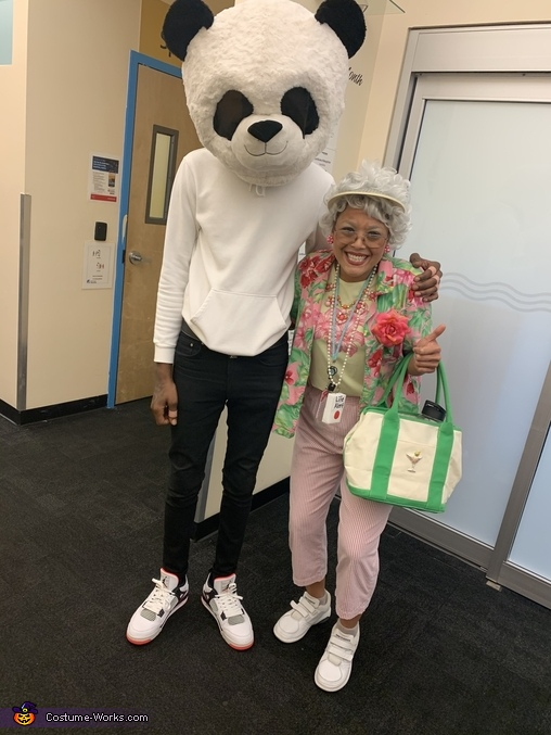 Florida Grandma Homemade Costume