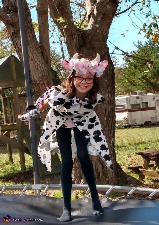 Flower Cow Costume
