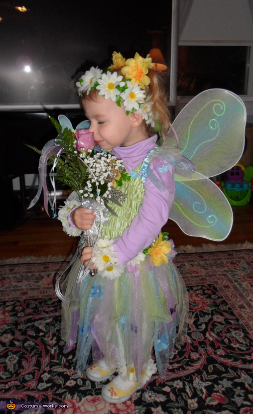 Flower Fairy Costume  sc 1 st  Costume Works : home made fairy costume  - Germanpascual.Com