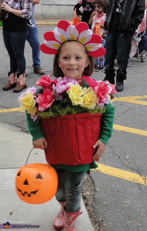 Flower in a Pot Costume