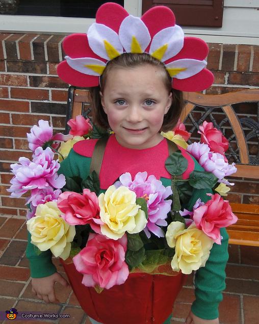 Flower in a pot, Flower in a Pot Costume