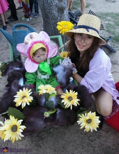Flower & Gardener Costume
