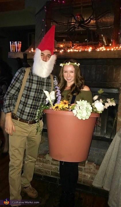 Flower Pot & Gnome Costume