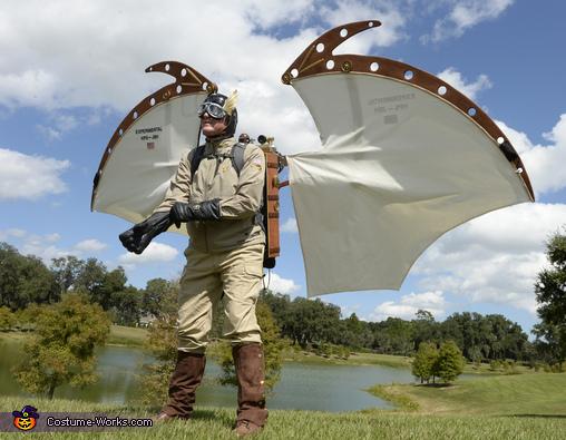 057a375ffa0 Flying Man Backpack Costume