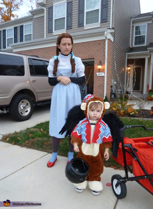 Flying Monkey with Dorothy, Flying Monkey Baby Costume