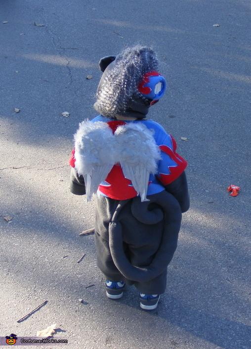 Flying Monkey back, Flying Monkey Baby Costume