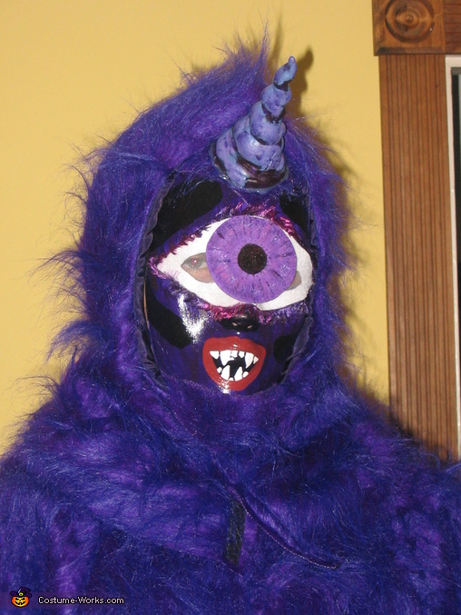 One-eyed One-horned Flying Purple People Eater, One-eyed One-horned Flying Purple Monster Costume