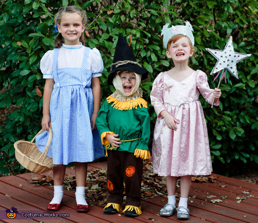 Follow the Yellow Brick Road Homemade Costume