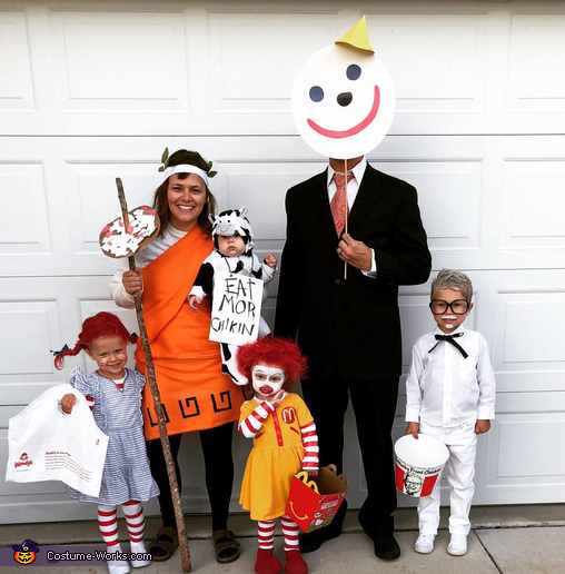 Food Court Family Costume