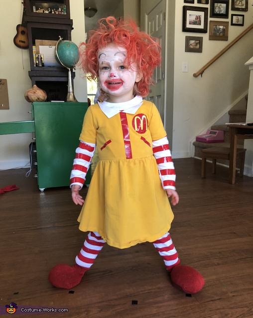 Ronald McDonald, Food Court Family Costume