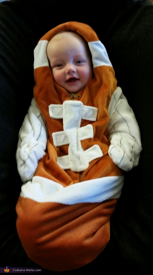 Cutest Football Baby Costume