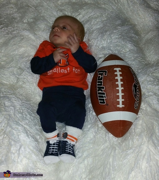 Something Football baby costume