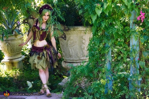 Homemade Forest Fairy Costume