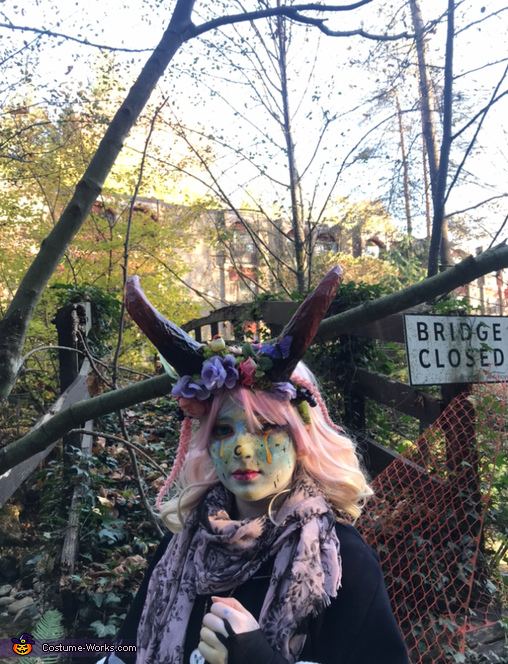 Following the Forest Fairy in the Fall, Forest Fairy Costume