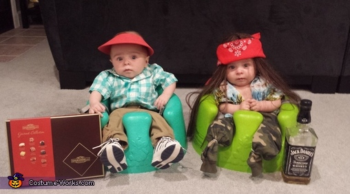 Forest Gump and Lt. Dan Baby Costume