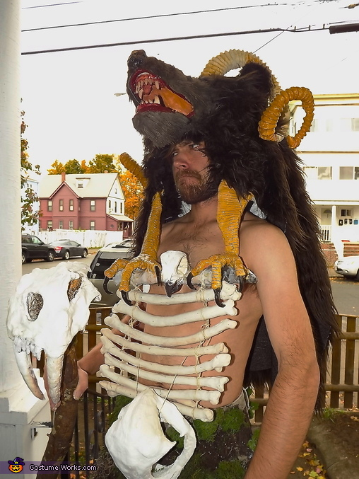 Forest Shaman Homemade Costume