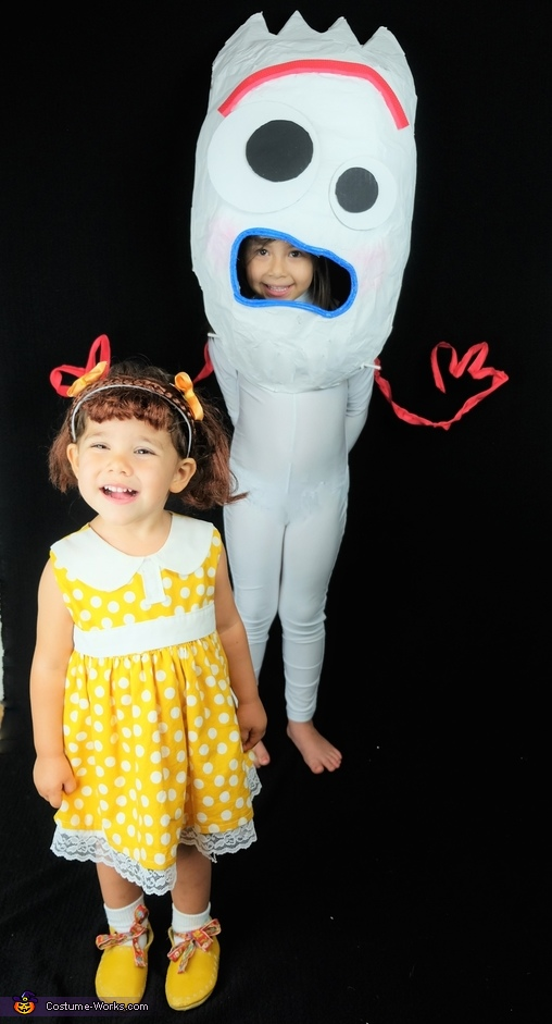Toy Story 4 Forky and Gabby Gabby Costume
