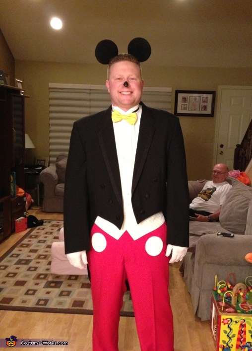 Formal Mickey Mouse Costume