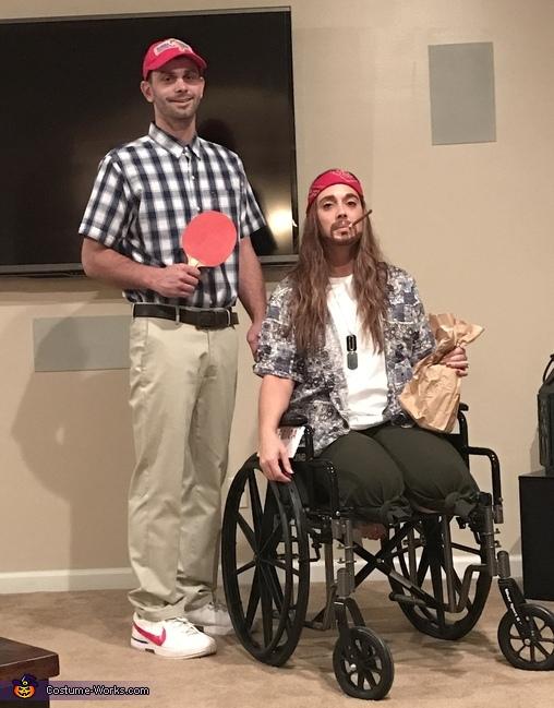Forrest Gump and Lieutenant Dan Costume