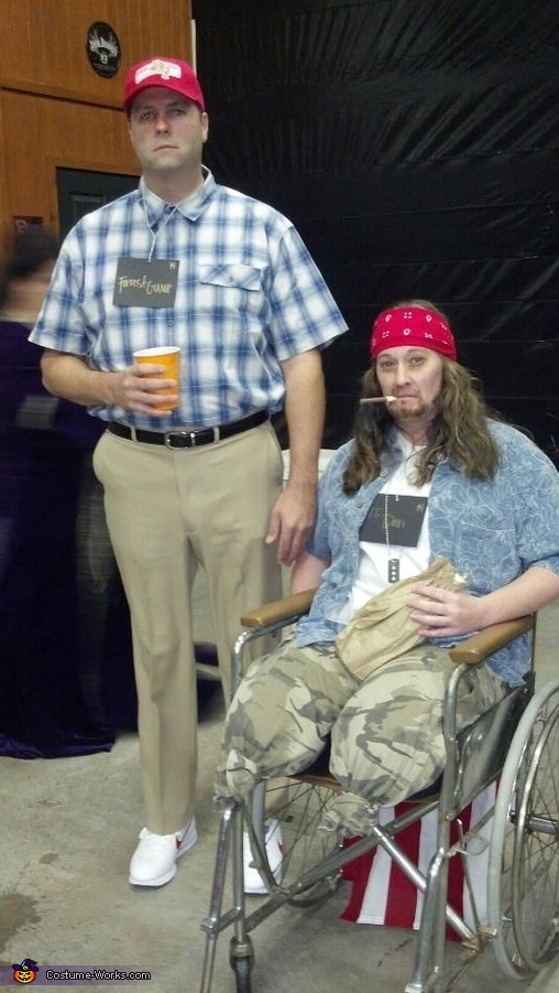 Forrest Gump and Lt Dan Couples Costume
