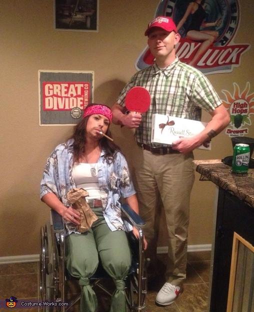 Forrest Gump and Lt. Dan Costumes