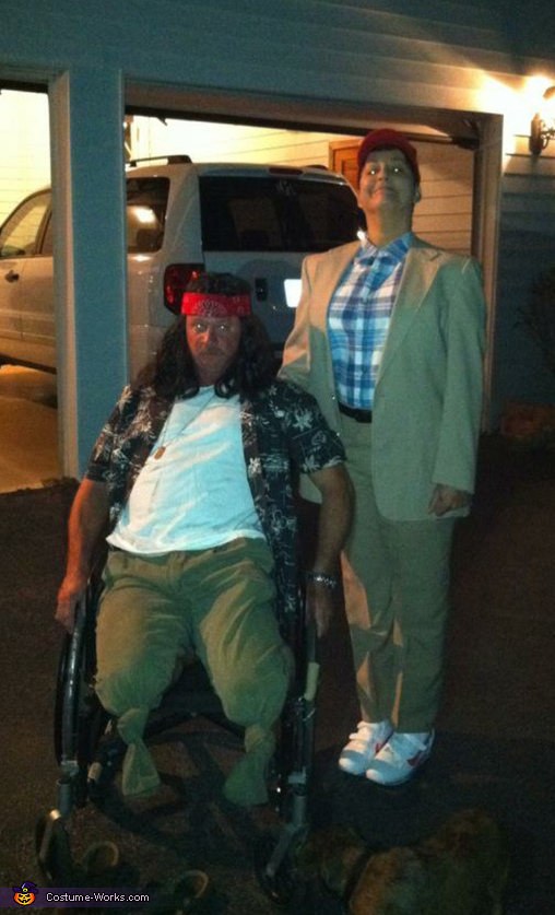 Forrest Gump and Lt Dan Costume