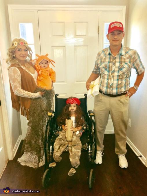 Forrest Gump Family Costume