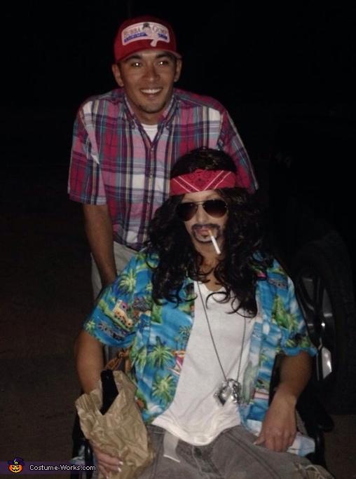 Forrest Gump & Lieutenant Dan Homemade Costume