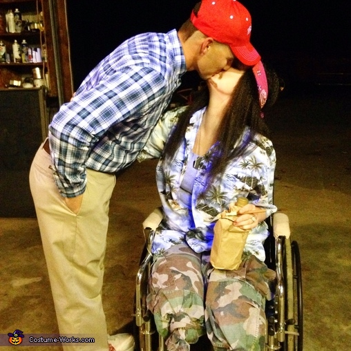 the REAL ending to the story, Forrest Gump & Lieutenant Dan Costume