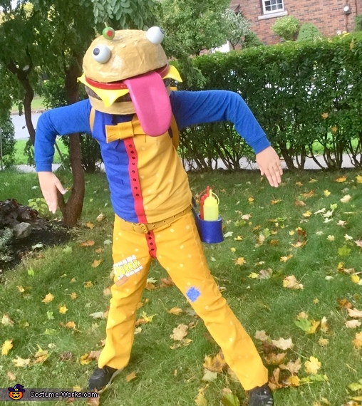 Fortnite Beef Boss Homemade Costume
