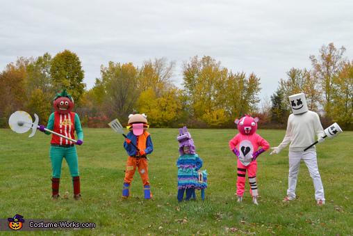 Fortnite Family Costume