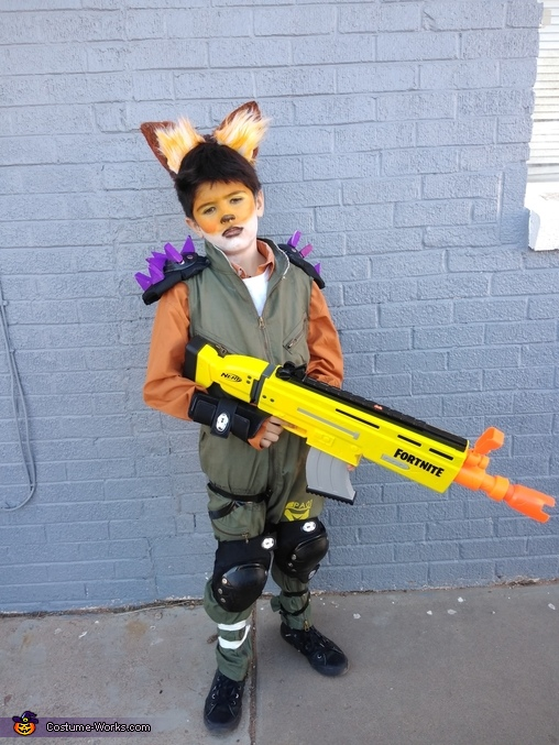 Fortnite Fennix the Fox Costume