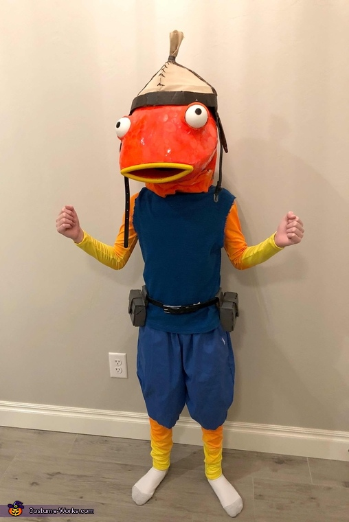 Fortnite Fishstick Homemade Costume