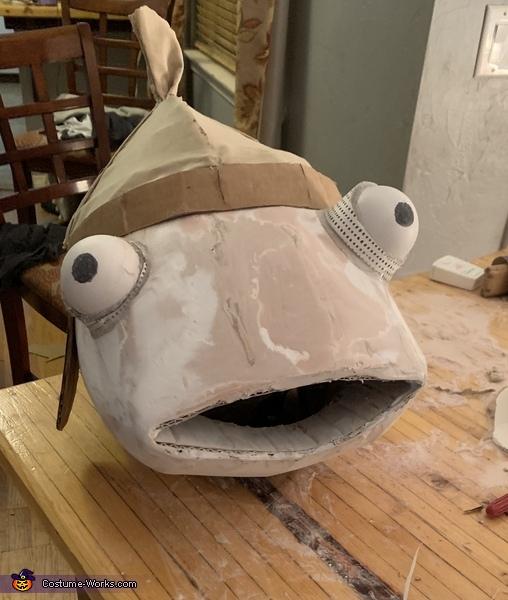 Homemade Board Game Ideas: Fortnite Fishstick Costume