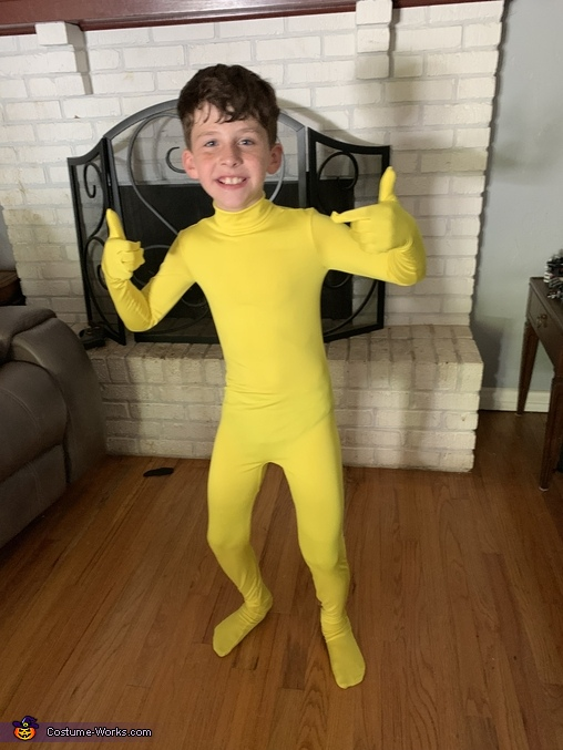 Fortnite Peely Homemade Costume